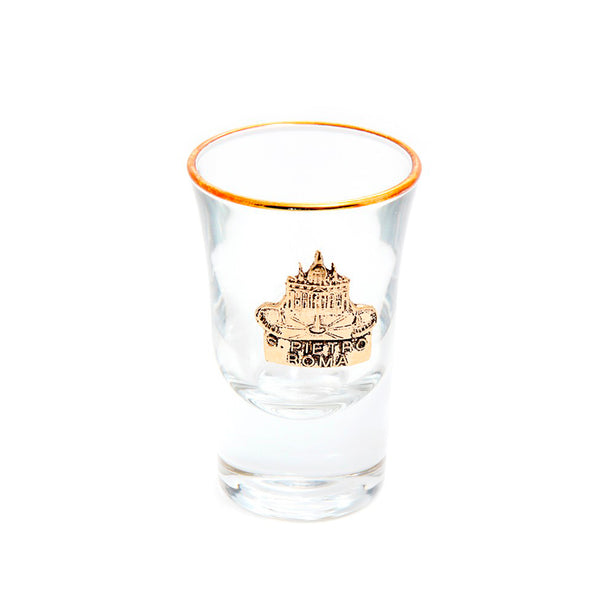 St peter's square shot glass