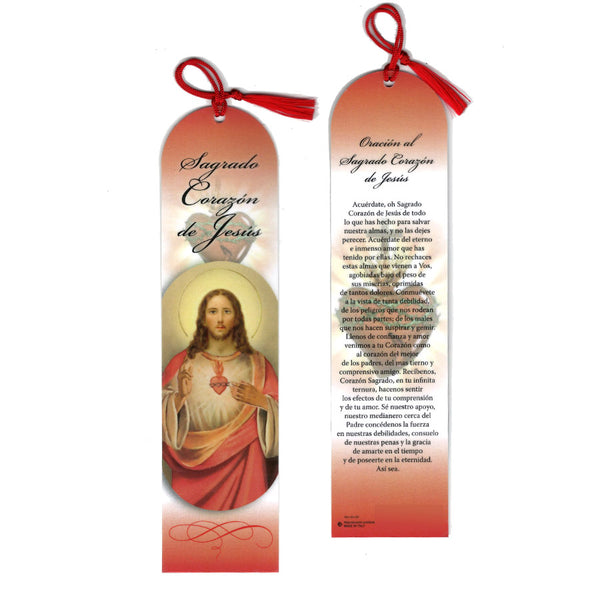 SACRED HEART OF JESUS - BOOKMARK