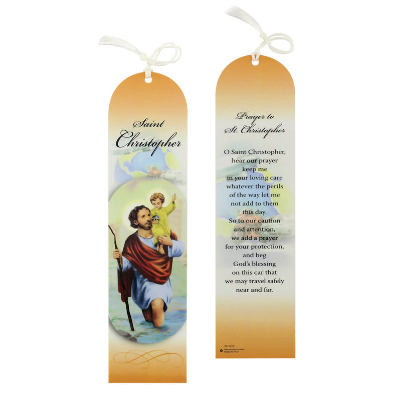 SAINT CHRISTOPHER - BOOKMARK