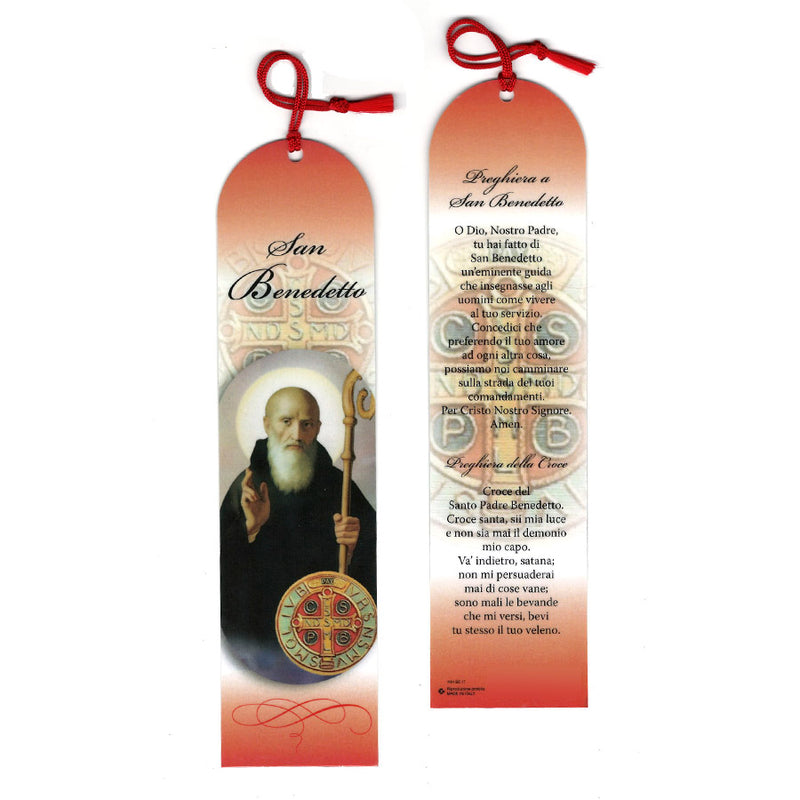SAINT BENEDICT - BOOKMARK