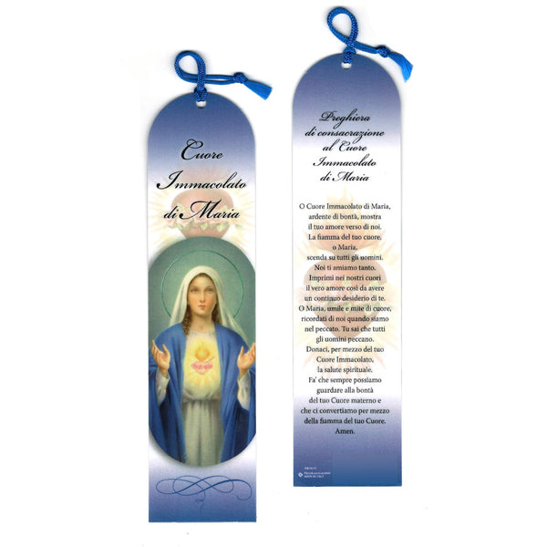 SACRED HEART OF MARY - BOOKMARK