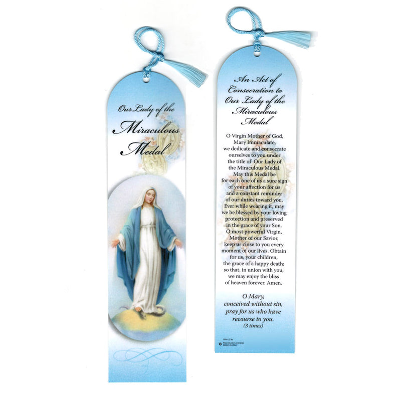 OUR LADY OF GRACES - BOOKMARK