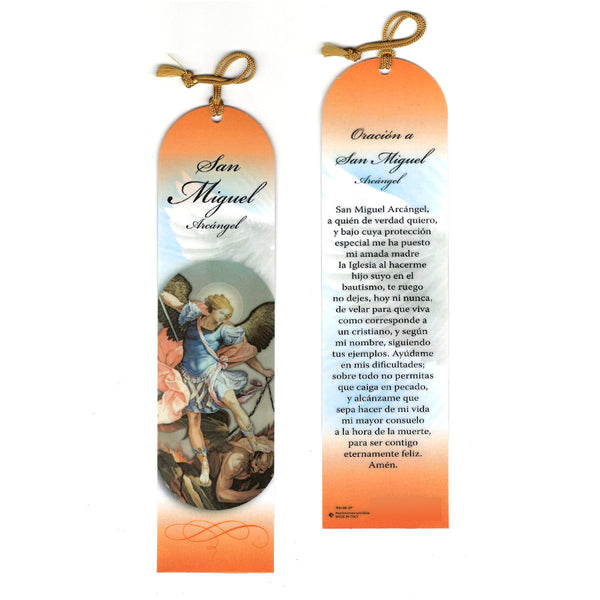 SAINT MICHAEL - BOOKMARK