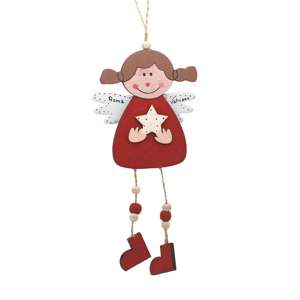 angel christmas tree ornament