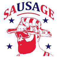 """The saUSAge"" Anthony Sherman T-Shirt"