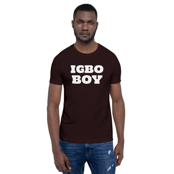 Igbo Boy - Short-Sleeve Unisex T-Shirt