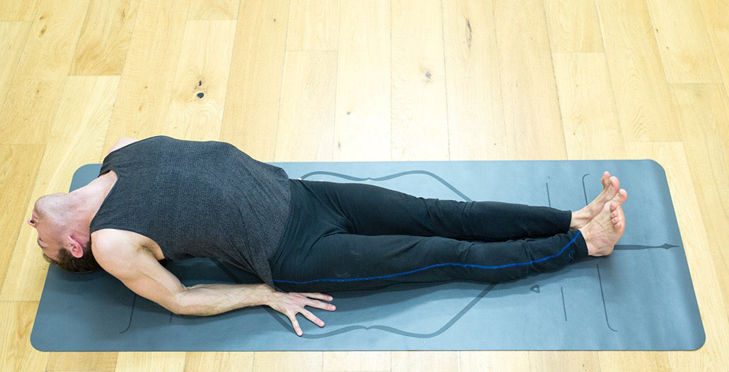 Fish Pose Matsyasana