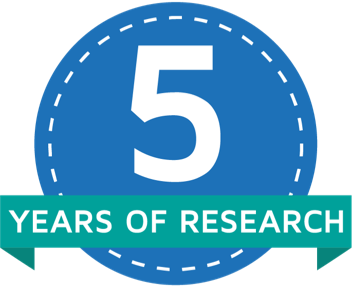 5 years of research