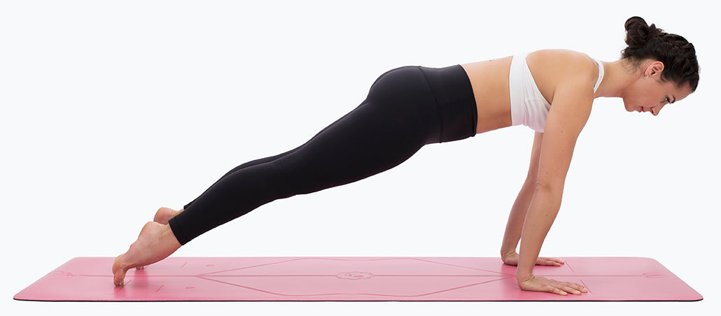 High Plank Shift Vinyasa Liforme