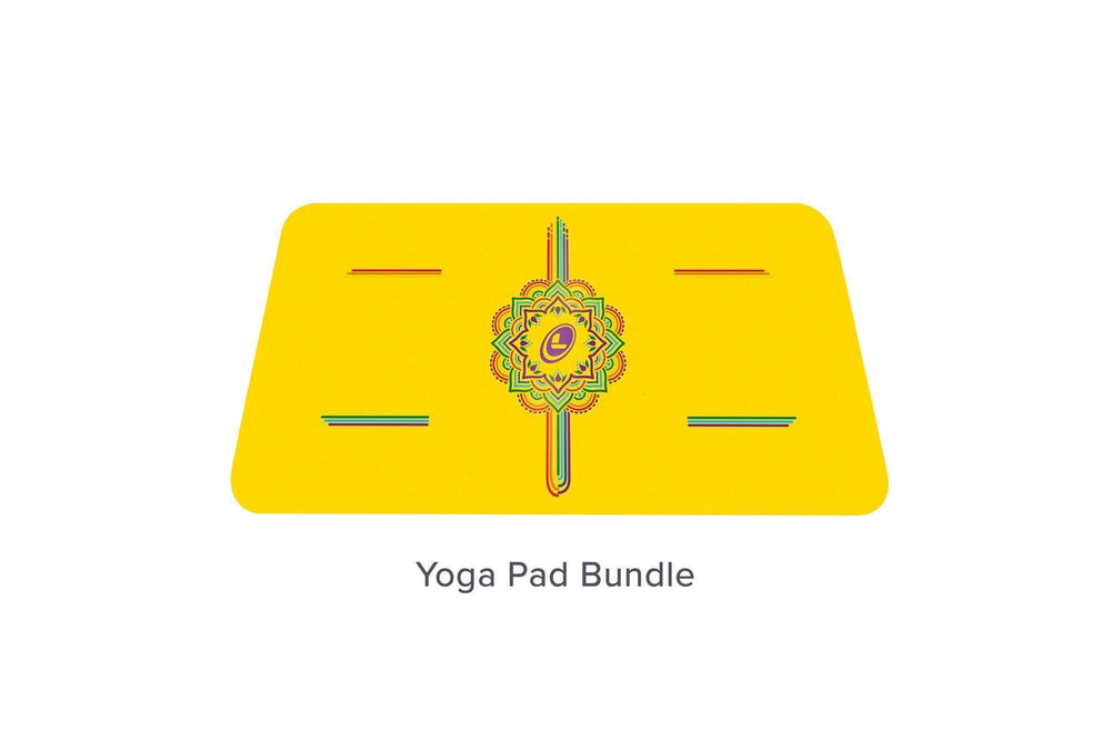 Liforme Rainbow Hope Yoga Mat - Yellow/Rainbow image 9