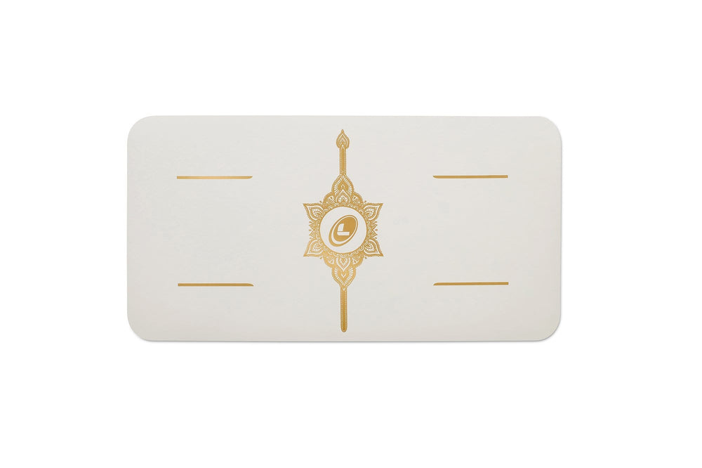 Liforme 'White Magic' Yoga Pad - White/Gold image 6