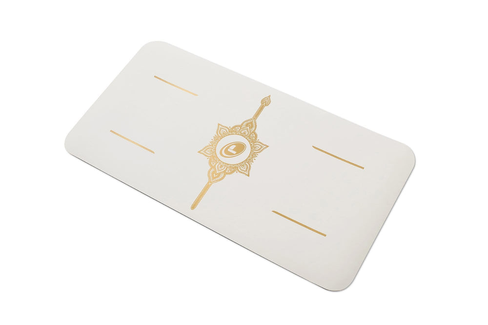 Liforme 'White Magic' Yoga Pad - White/Gold image 2