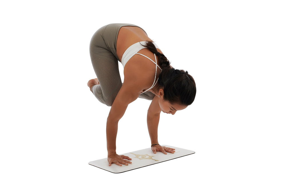 Liforme 'White Magic' Yoga Pad - White/Gold image 4