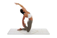 Liforme 'White Magic' Yoga Pad - White/Gold image 5