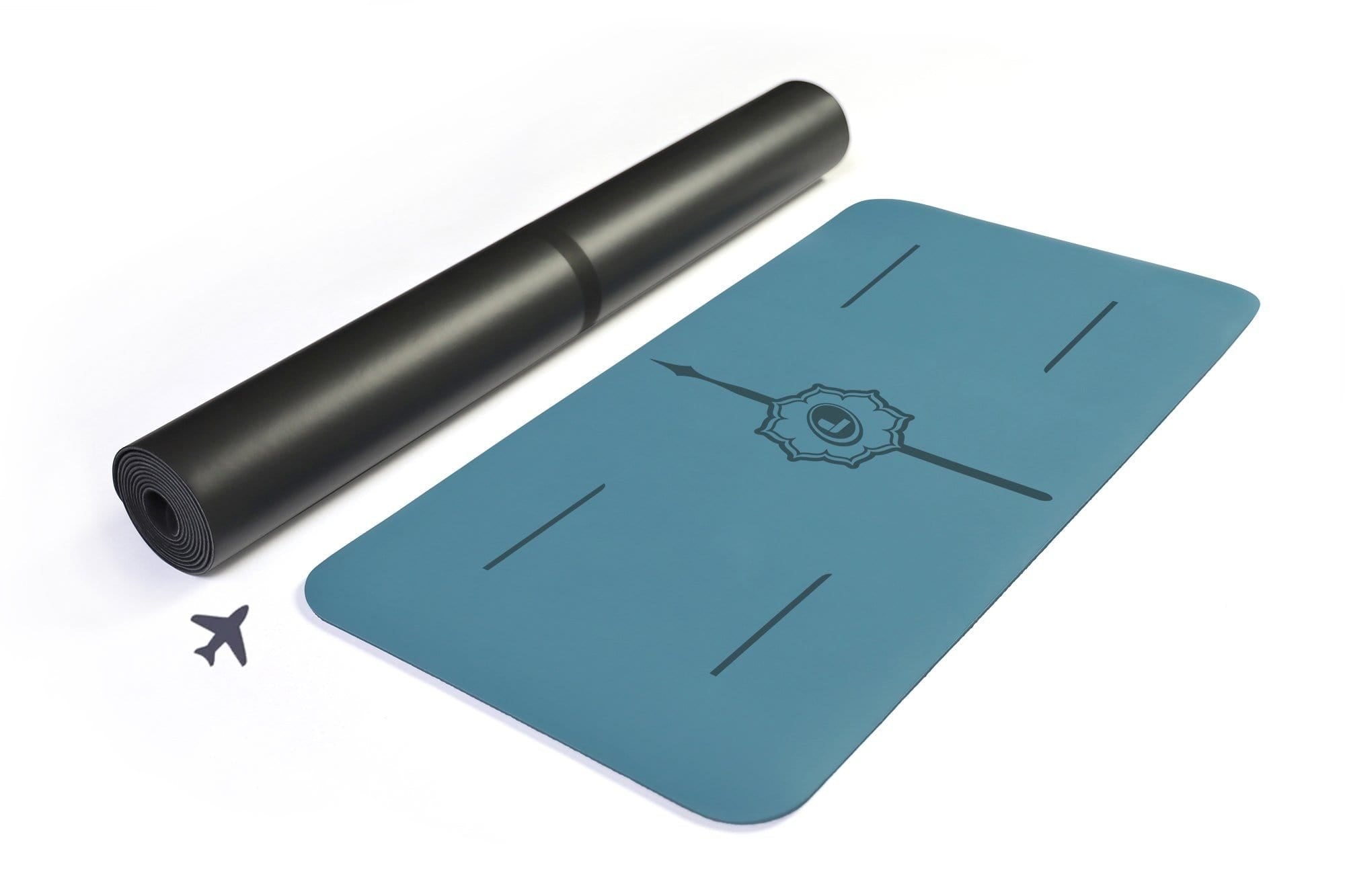Liforme Travel Mat and Yoga Pad Bundle