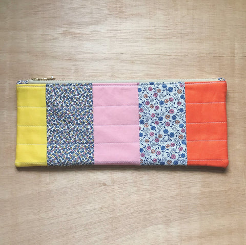 wraparound clutch - mabel