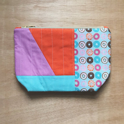 freeform pouch - glazed