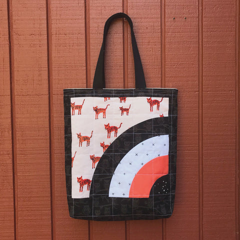 halloween tote - trick or squeak no.1