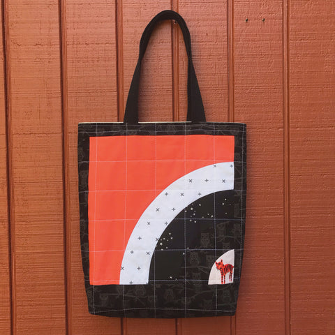 halloween tote - trick or squeak no.2
