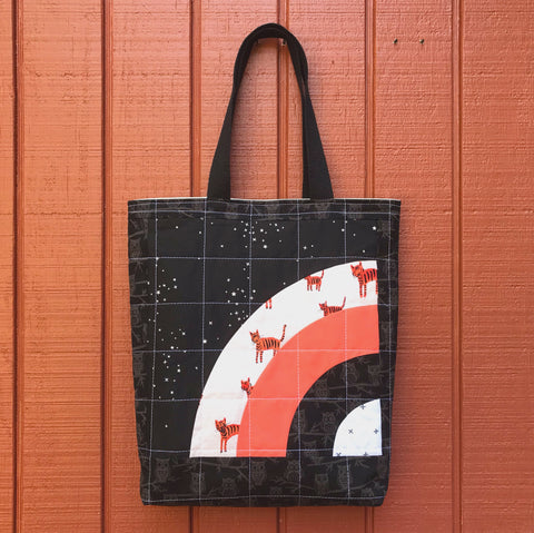 halloween tote - trick or squeak no.3
