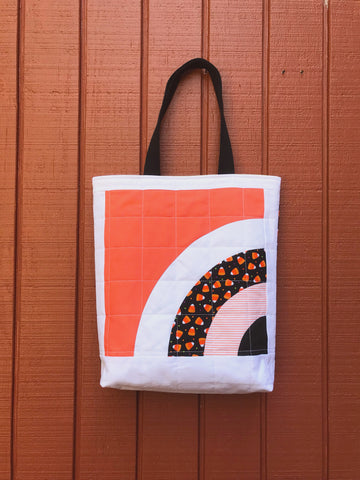 halloween tote - trick or sneak no.1