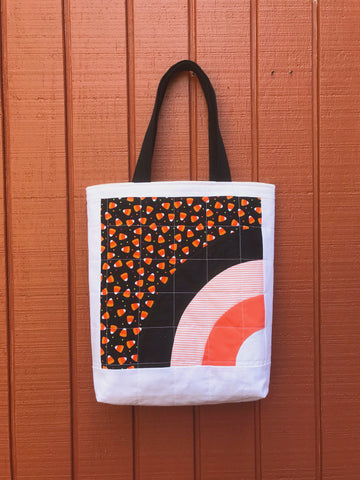 halloween tote - trick or sneak no.2