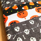 halloween clutch - striped coffin