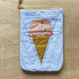 ice cream pouch - floral sherbet