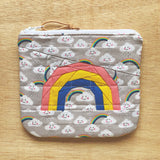 rainbow pouch - stormy weather