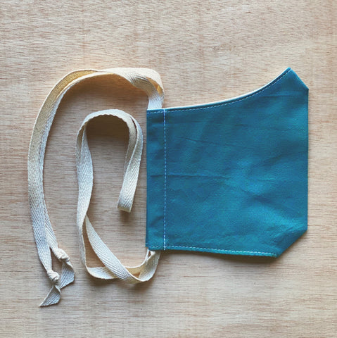 turquoise | adult cotton mask