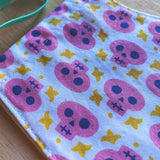 skull chic | cotton mask for tweens + teens