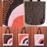 halloween tote - trick or sneak no.3