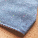 neon chambray | adult cotton mask