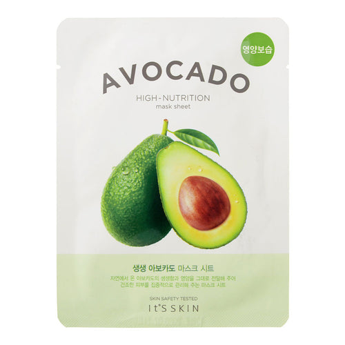 ШИЙТ МАСКА С АВОКАДО  It'S SKIN  The Fresh Mask Sheet  Avocado 21г