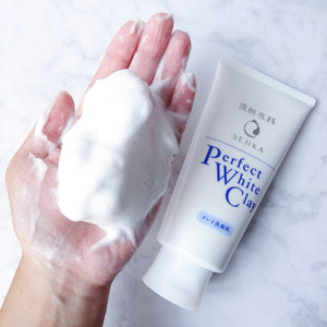 ПОЧИСТВАЩА ПЯНА ЗА ЛИЦЕ Shiseido Senka Perfect White Clay Cleansing Foam 120г