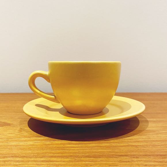Matte Yellow Coffee Cup