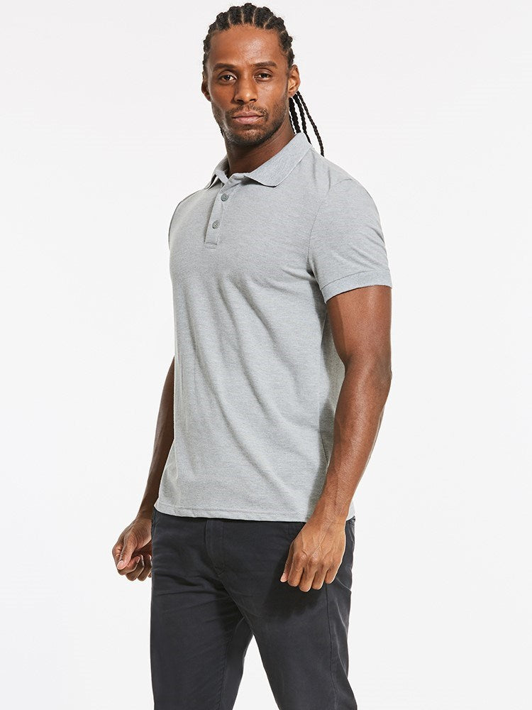 T-shirt Homme Pure Revers Slim Manches Courtes