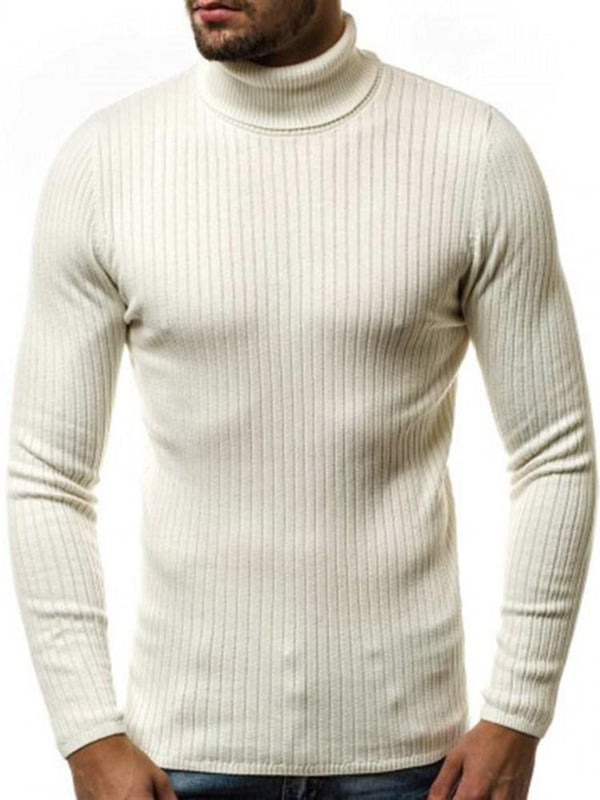 Pull Homme Pure Standard Col Montant Hiver Loisir