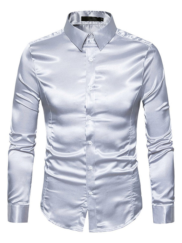 Chemise Homme Pure Revers Slim Automne