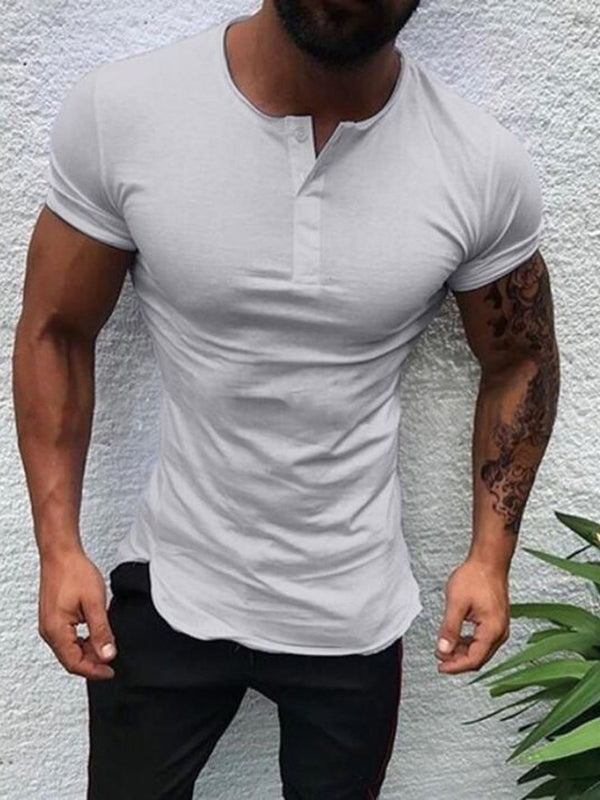 T-shirt Homme Manches Longues Slim