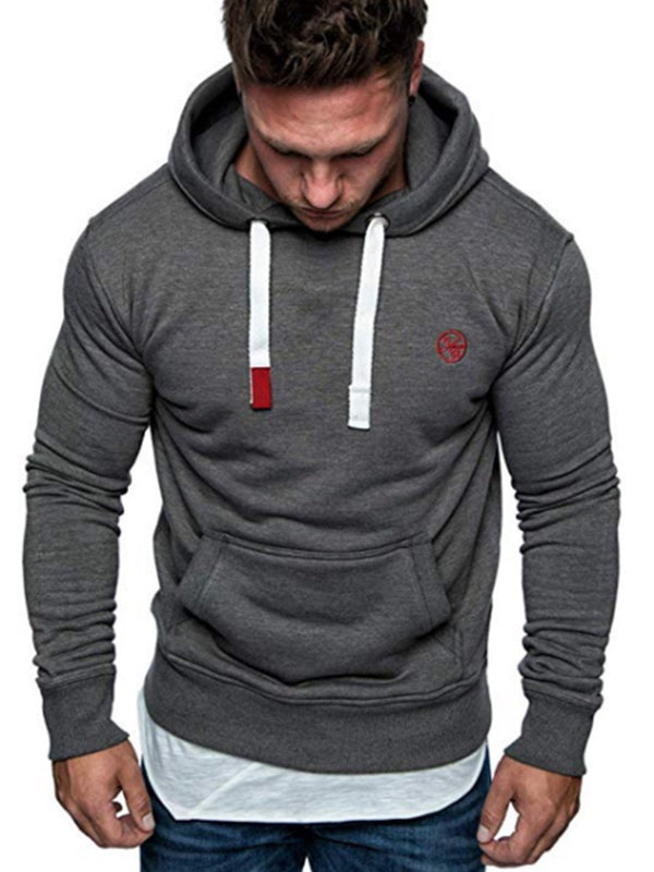 Sweat-shirt Homme Pull-Over Type Droit