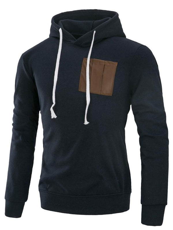 Sweat-shirt Homme Pull-Over épissure Pure Pull Automne