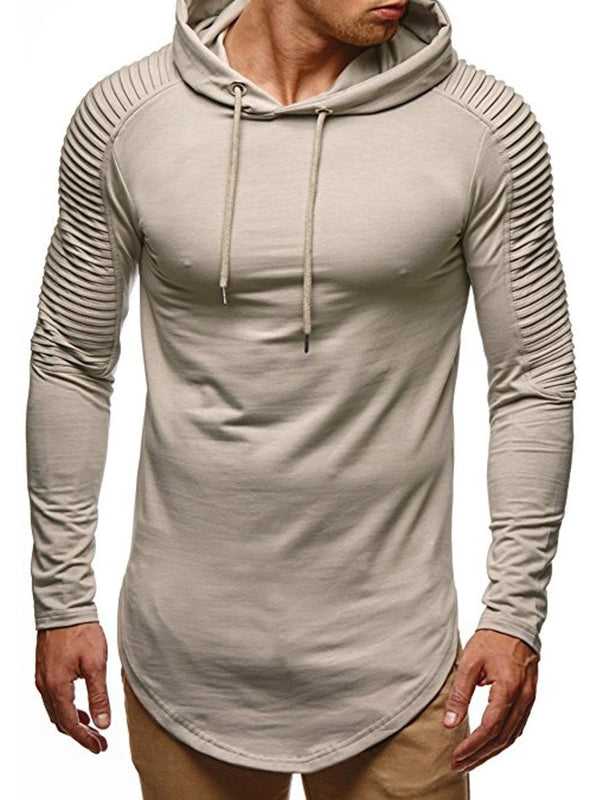 Sweat-shirt Homme Pull-Over Pure Type Droit Printemps