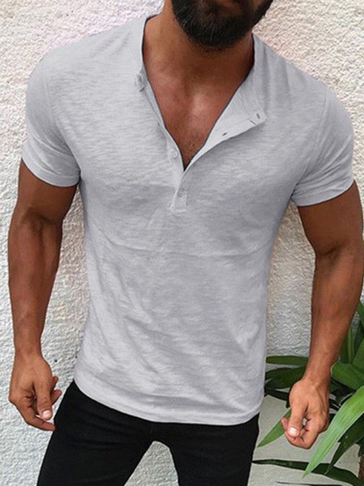 T-shirt Homme Pure Occident Manches Courtes Slim
