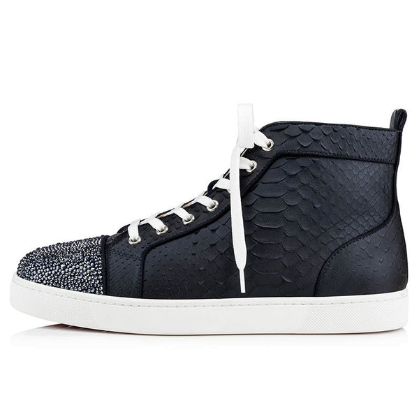 Baskets Homme Lacet High-Cut Upper Round