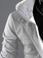 Sweat-shirt Homme Cardigan Type Droit