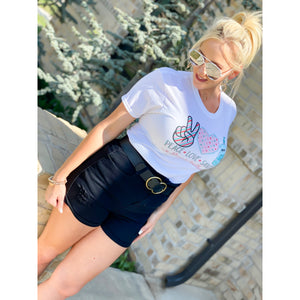 Vintage  High Waist  Shorts - Sayre's Eden Boutique