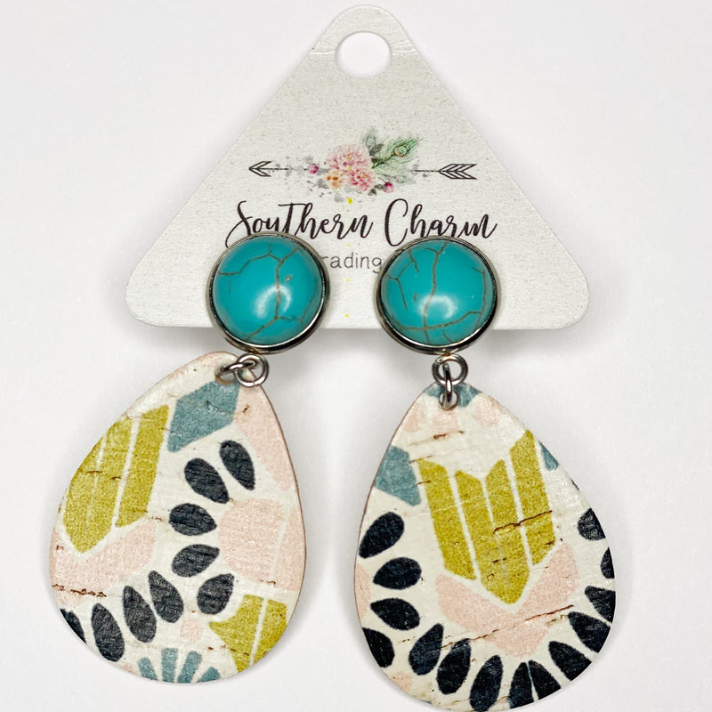 Corky Dangle Earrings - Sayre's Eden Boutique