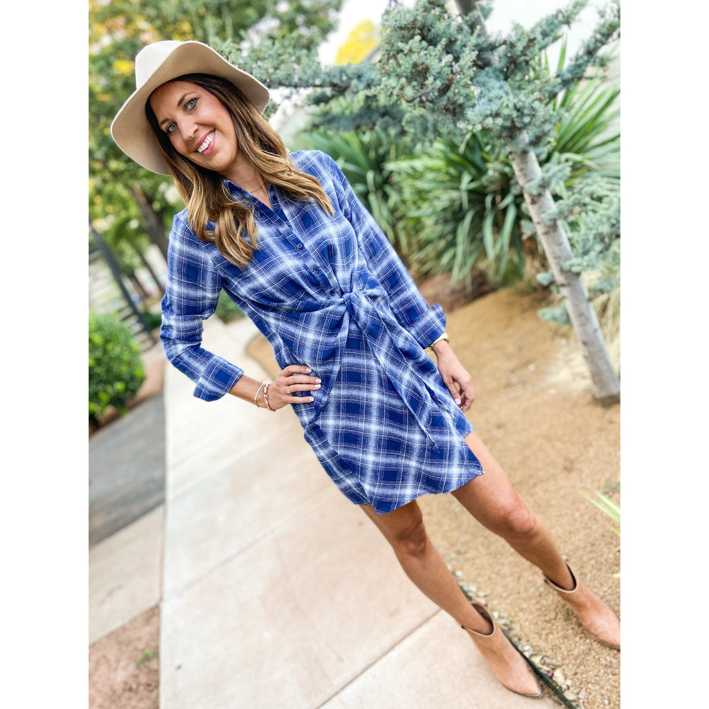Tatum Wrap Dress - Sayre's Eden Boutique