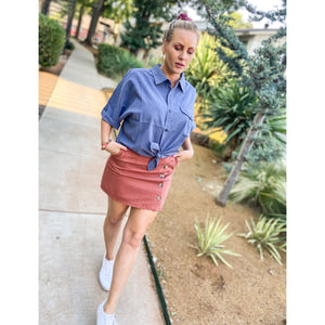 Siena  Mini Skirt - Sayre's Eden Boutique